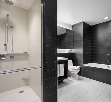 Bathroom | Deluxe View Suite | Hyatt Centric Times Square New York