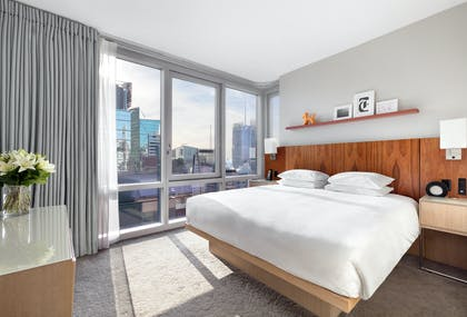 Bedroom | Deluxe View Suite | Hyatt Centric Times Square New York