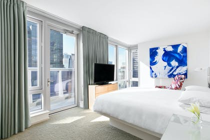 Bedroom 1 | Premier Suite + One King Bed | Hyatt Centric Times Square New York