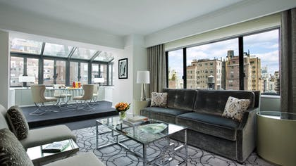 Living Room | Atrium Suite | Loews Regency New York