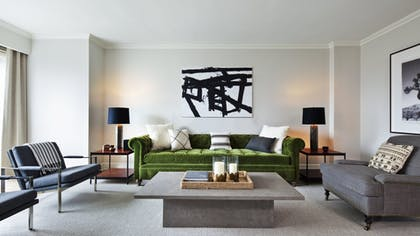 Living Room | Nate Berkus Apartment | Loews Regency New York