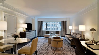Living Room 2 | Park Avenue Two-Bedroom Suite | Loews Regency New York