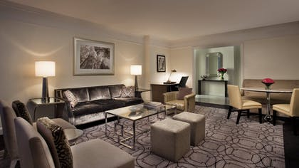 Living Room 3 | Park Avenue Two-Bedroom Suite | Loews Regency New York