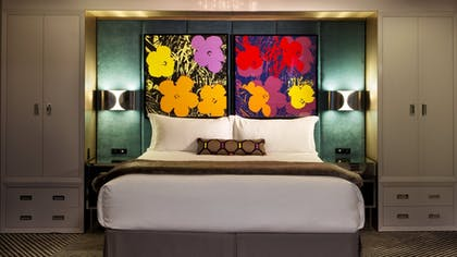 Bedroom | Pop Art Suite | Loews Regency New York