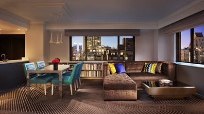 Living Room | Pop Art Suite | Loews Regency New York