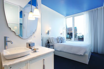 Bedroom and Bath | King Suite + Crosby Sofabed Suite | NOMO SOHO
