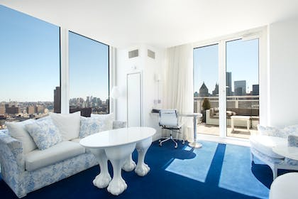 Living Room View | NoMo Balcony Suite | NOMO SOHO