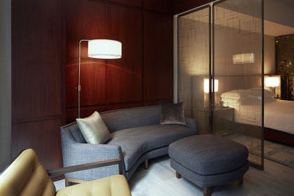 Living Area | One King Studio Suite | Park Hyatt New York
