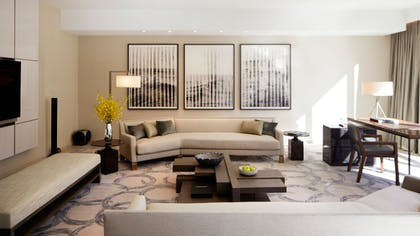 Living Room 1 | One Bedroom Presidential Suite | Park Hyatt New York