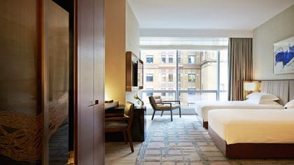 Double Bedroom | One King City View Suite + Two Double City View | Park Hyatt New York