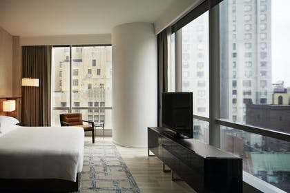 West Side Bedroom | One King City View Suite + Two Double City View | Park Hyatt New York