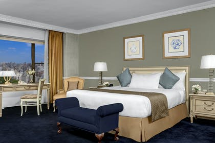 Bedroom  | Presidential Suite + Premier City View King | Park Lane Hotel New York