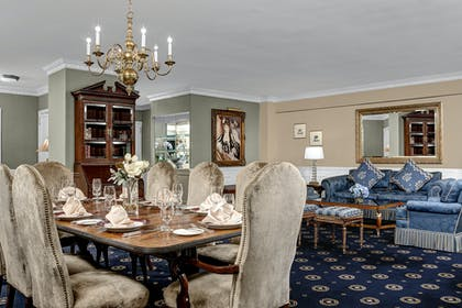 Dining room | Presidential Suite + Premier City View King | Park Lane Hotel New York