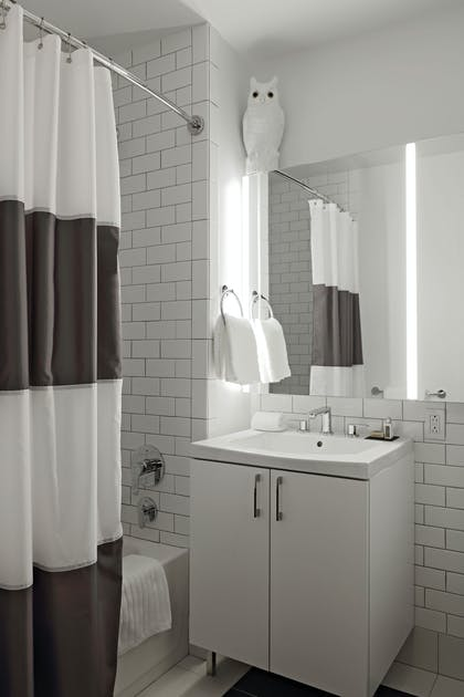 Bathroom | Two Bedroom Suite Two Baths | Lyric at 70 Pine