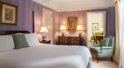Bedroom 1 | One Bedroom Suite + Classic Standard King | Roger Smith Hotel