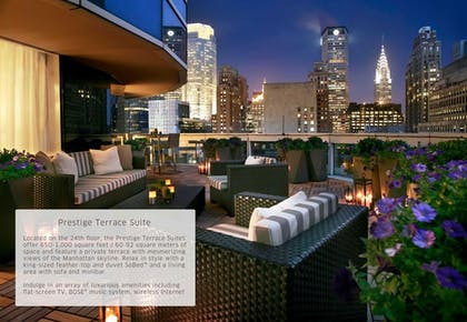 Terrace | Prestige Terrace Suite | Sofitel New York