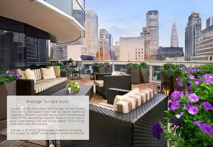 Terrace 2 | Prestige Terrace Suite | Sofitel New York