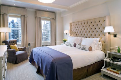 Bedroom | Deluxe 2 Bedroom Suite | The Carlyle, A Rosewood Hotel