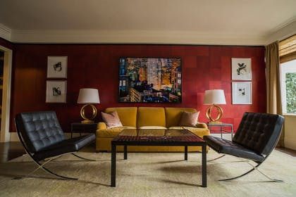 Living Room | Rosewood Suite | The Carlyle, A Rosewood Hotel