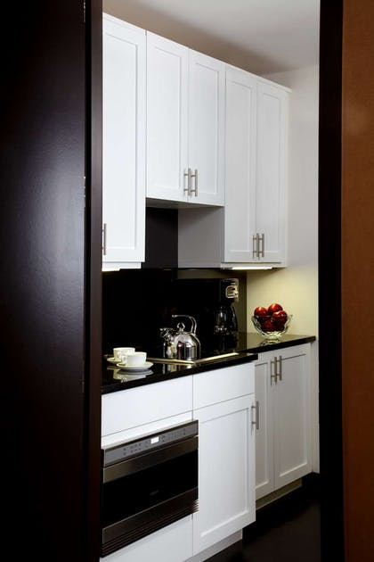 Pantry | Director One Bedroom Suite + Junior Suite King Bed | The Chatwal