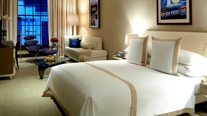 Bedroom | Junior Suite King Bed | The Chatwal