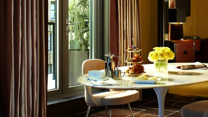 Dining room | 2 Producer One Bedroom Suites + 2 Director One Bedroom Suites | The Chatwal