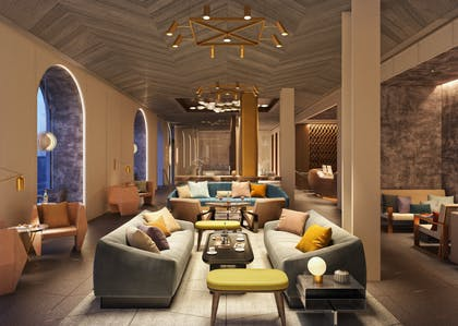 Lobby sitting area | The James New York - NoMad