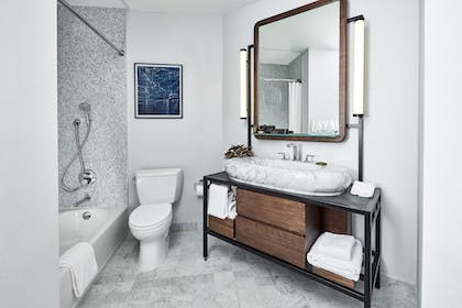 Bathroom | James Suite King | The James New York - NoMad
