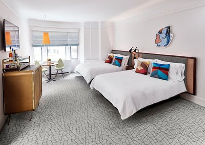 Bedroom | James Suite Two Queens | The James New York - NoMad