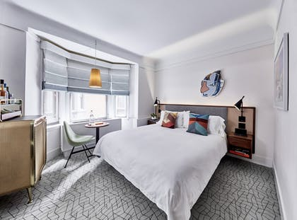 Bedroom | Jimmy Suite King | The James New York - NoMad