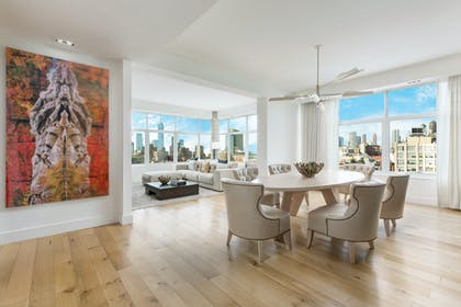 Dining Area | Penthouse Suite | The James New York - SoHo