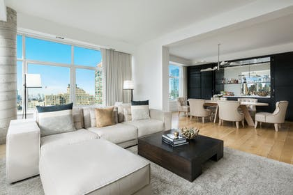 Living Area | Penthouse Suite | The James New York - SoHo