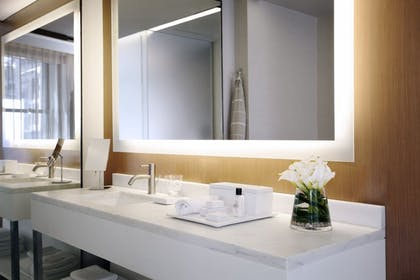 Bathroom | Corner Junior Suite + Premier Guestroom | King | The Knickerbocker