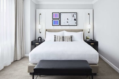 Bed   1 King Bed Park View 1 Bedroom Suite   The London NYC