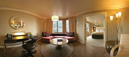 Living Room | London Suite | The London NYC