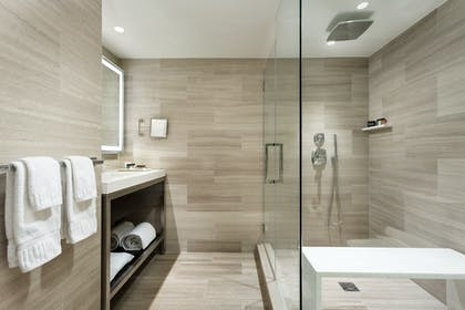 Bathroom   One Bedroom Suite   The Manhattan at Times Square Hotel