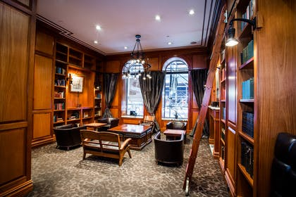 Library |  | The Mansfield Hotel