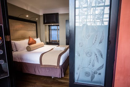 Bedroom area | The Yeats Apartment | The Mansfield Hotel