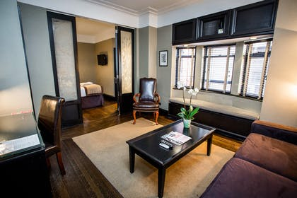 Living area | The Yeats Apartment | The Mansfield Hotel