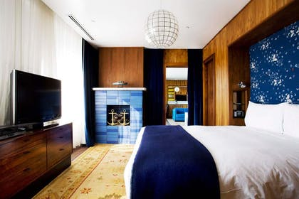 Bedroom | Rooftop Penthouse | The Maritime Hotel