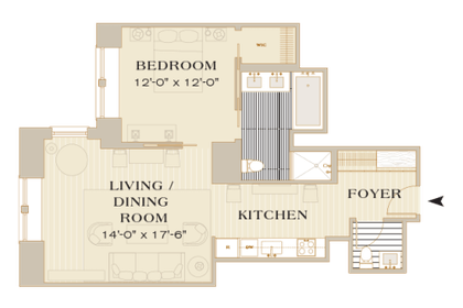 Floorplan | Manhattan Suite | The Mark