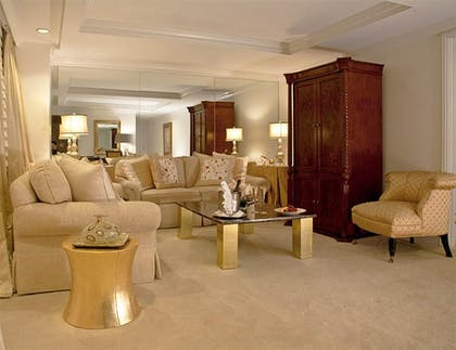 Living Space | Grand One Bedroom Suite | The Michelangelo