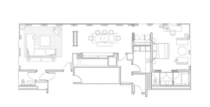 Floor Plan | Penthouse Suite | The New York EDITION