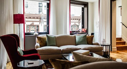 Living Room | Suite Royale | The Nomad Hotel