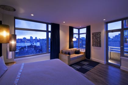 Bedroom | Lifestyle Loft | The NYLO Hotel