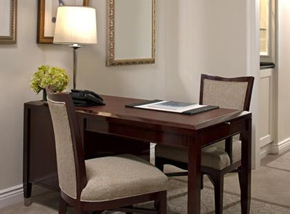 Desk | Deluxe Suite + Grand Luxe Room | The Peninsula New York