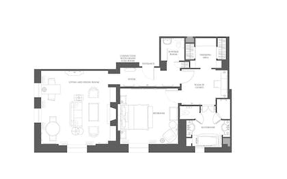 Floorplan | Deluxe Suite | The Peninsula New York
