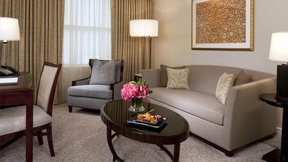 Living Room | Executive Suite | The Peninsula New York