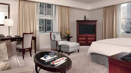 Bedroom | Junior Suite + Deluxe Room | The Peninsula New York