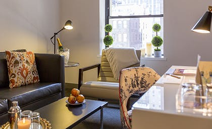 Living Room | Redbury Flat Two Doubles | The Redbury New York
